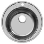 Мойка врезная 490 мм. Габаритный размер: Диаметр 490 мм. Для стола шириной 60 см. Врезная мойка устанавливается согласно инструкции по её монтажу. Комплектуется сифоном. Материал изготовления: Нержавеющая сталь. Цена: 1100 руб