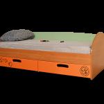 """Кровать """"Фиксики"""" габариты:1840*740*630 Цена: 5700 руб (без матраса)"""