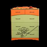 """Комод """"Макс-2"""" Фиксики габариты: 800*515*1030 мм цена 6000 руб"""