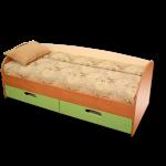 """Кровать """"Смешарики"""" габариты:1840*740*630 Цена: 5700 руб (без матраса)"""