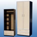 Шкаф 2-х распаш  850-590-2200мм  цена 5600руб с накладками мдф 6000 руб