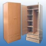 Шкаф 2х дверн.распашной 850-59-2200мм   цена 5600руб