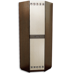 Шкаф ШРУ-1 Калипсо 750-750-2200мм- цена 7450руб цвет венге- дуб выбеленный