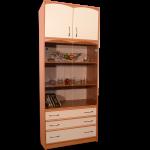 Шкаф с витриной  800-530-2100мм  цена 7800 руб