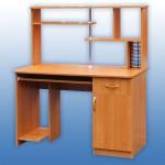Стол Коип.-1 с надстройкой 1200-600-760мм Цена 3400руб