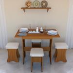 Стол кухонный Дуэт СТО-1 Длина : 1000 мм Глубина : 600 мм Высота : 750 мм Цена: 1500 руб