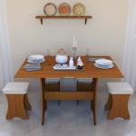 Стол кухонный раскладной СТО-2 Длина : 800 мм Глубина : 600 мм Высота : 770 мм разложенный: 1200 х 800 мм Цена 2000 руб