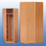 Шкаф угловой 705/705/2100мм Цена 4200 руб