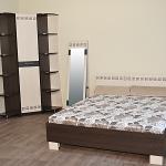 """Кр-2X11 """"Калипсо"""" """"Калипсо"""" - удобная двуспальная кровать, которая станет комфортным местом для сна и украсит интерьер спальни. Изголовье кровати украшено оригинальным рисунком. Ортопедическое основание и матрас 1600x2000 мм можно приобрести отдельно. Цена 5700 руб"""